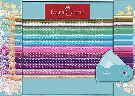 Faber-Castell 201641 Sparkle - Juego de 20 lápices de ...
