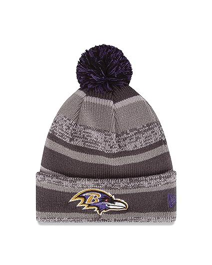 660e07ed915 Amazon.com   NFL Baltimore Ravens 14 Graphite Team Color Sports Knit ...