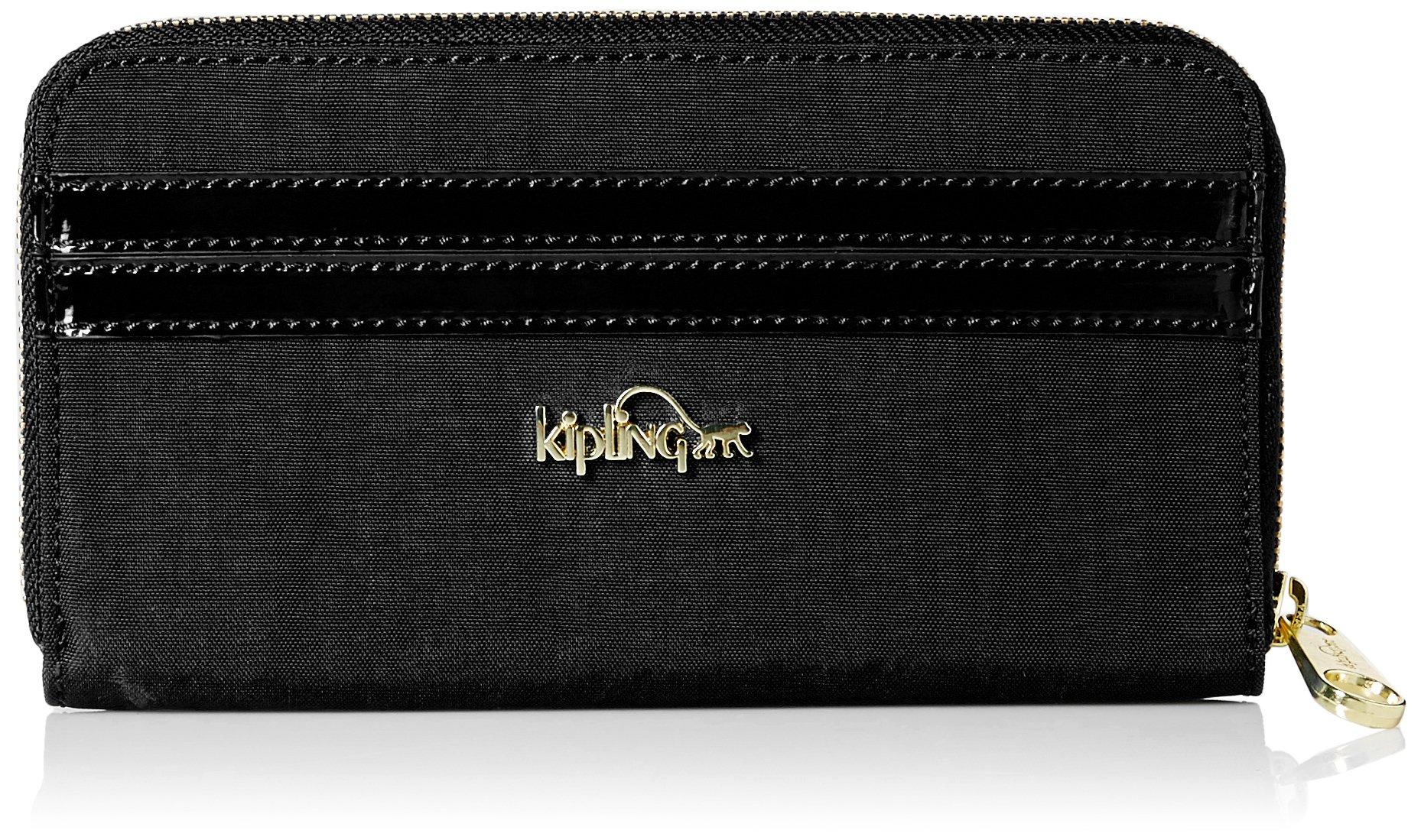 Vanessa Wallet, Black Patent Combo, One Size