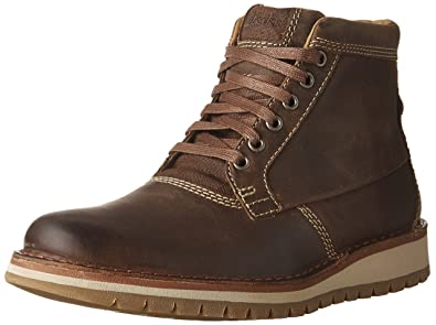 CLARKS Varby Top Mens Lace Up Ankle Boots