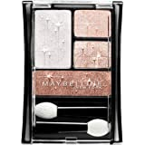 Maybelline New York Expert Wear Luminous Lights Eyshadow Quad, Rose Lights, 0.17 Ounce