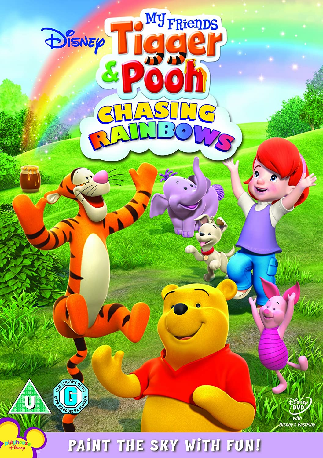 My friends tigger pooh chasing rainbows dvd amazon jim my friends tigger pooh chasing rainbows dvd amazon jim cummings travis oates ken sansom dvd blu ray altavistaventures Images