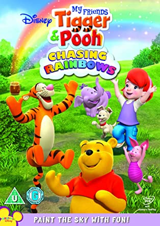 My friends tigger pooh chasing rainbows dvd amazon my friends tigger pooh chasing rainbows thecheapjerseys Images