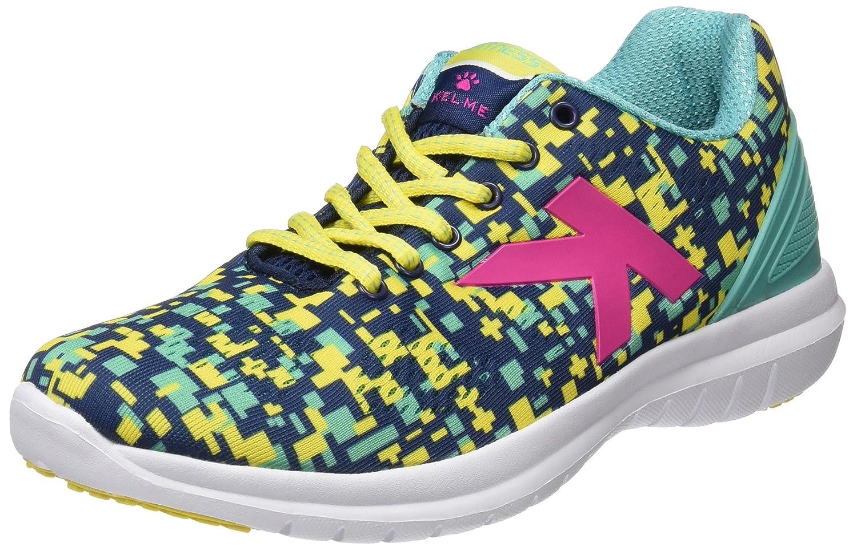 Kelme Atenea, Zapatillas para Mujer 40 EU|Amarillo (Indigo / Yellow)