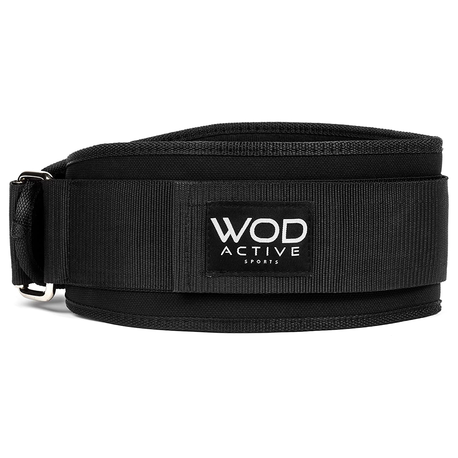 Weightlifting Belt for WODs Olympic Lifts – Lifting Belt w 4 Inch Back Support