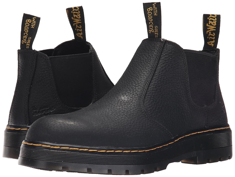 3c6d6d4fa56 Dr. Martens Men's Rivet Steel Toe Chelsea Boot