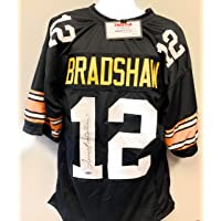 $149 » Terry Bradshaw Pittsburgh Steelers Signed Autograph Custom Jersey Black Tristar Authentic Certified