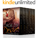 Cage of Desire: (Cage of Desire Complete Series Bundle): An Alpha Stepbrother Billionaire Romance