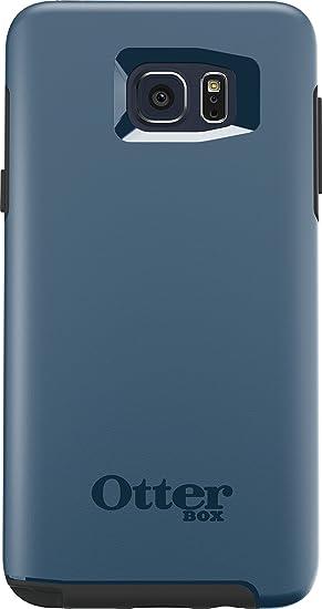 pretty nice 7ee6b 4be18 OtterBox SYMMETRY SERIES Case for Samsung Galaxy Note5 - Retail Packaging -  City Blue (Dark Deep Water Blue/Slate Grey)