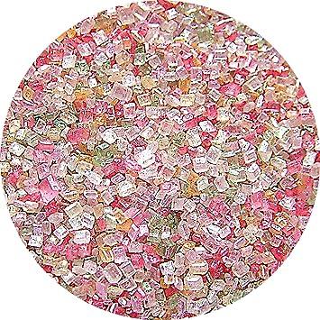 Natural Rainbow tuercas leche de soja Gluten OMG libre Shimmer brillante azúcar: Amazon.es: Hogar