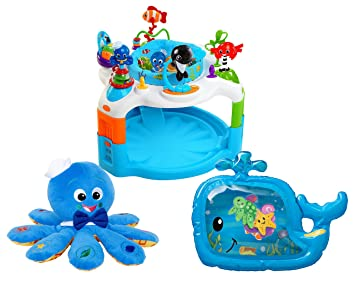 6482d50d7 Amazon.com   Baby Einstein Rhythm of The Reef Activity Saucer with ...