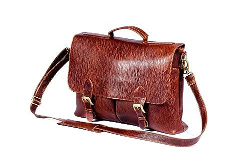 Amazon Com Cross Body Shoulder Leather Messenger Bag For Men
