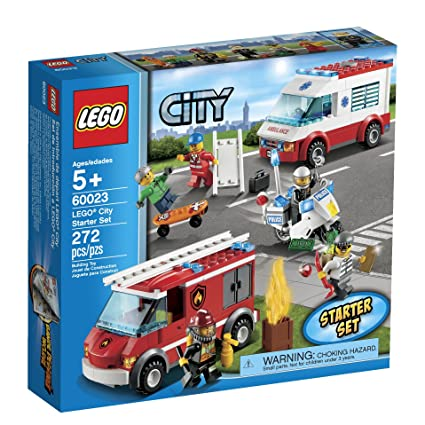 Amazon.com: LEGO City 60023 Starter Toy Building Set: Toys & Games