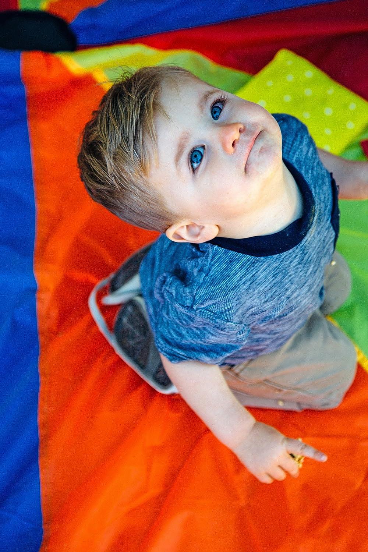 Amazon.com: Pacific Play Tents Kids Playchute II 10 Foot Parachute ...