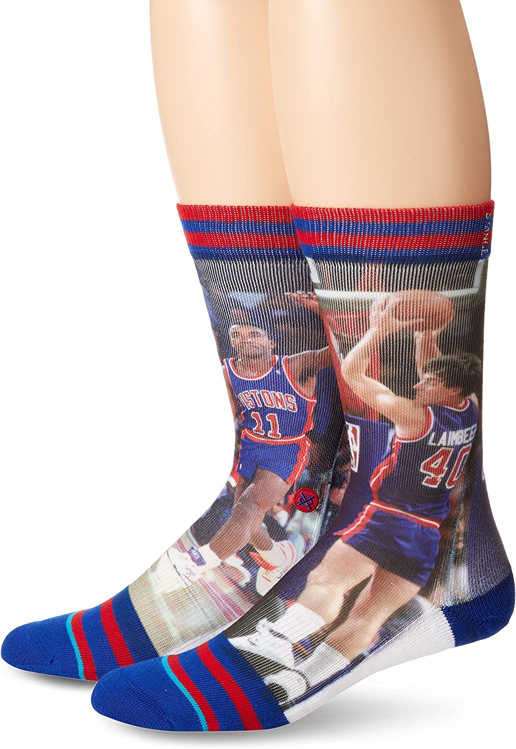 Stance Men's Thomas/lambeer Detriot Pistons
