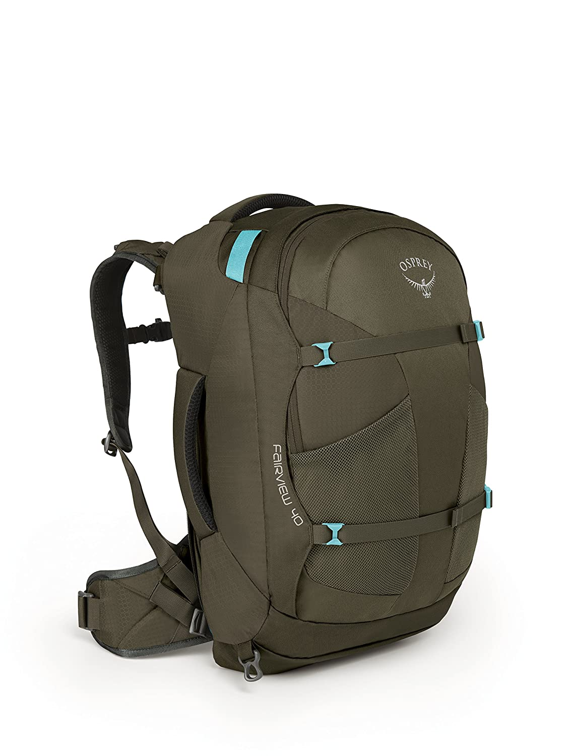 Osprey Fairview 40 Womens Backpack Rainforest Green WS/WM OSPSF|#Osprey 10001132