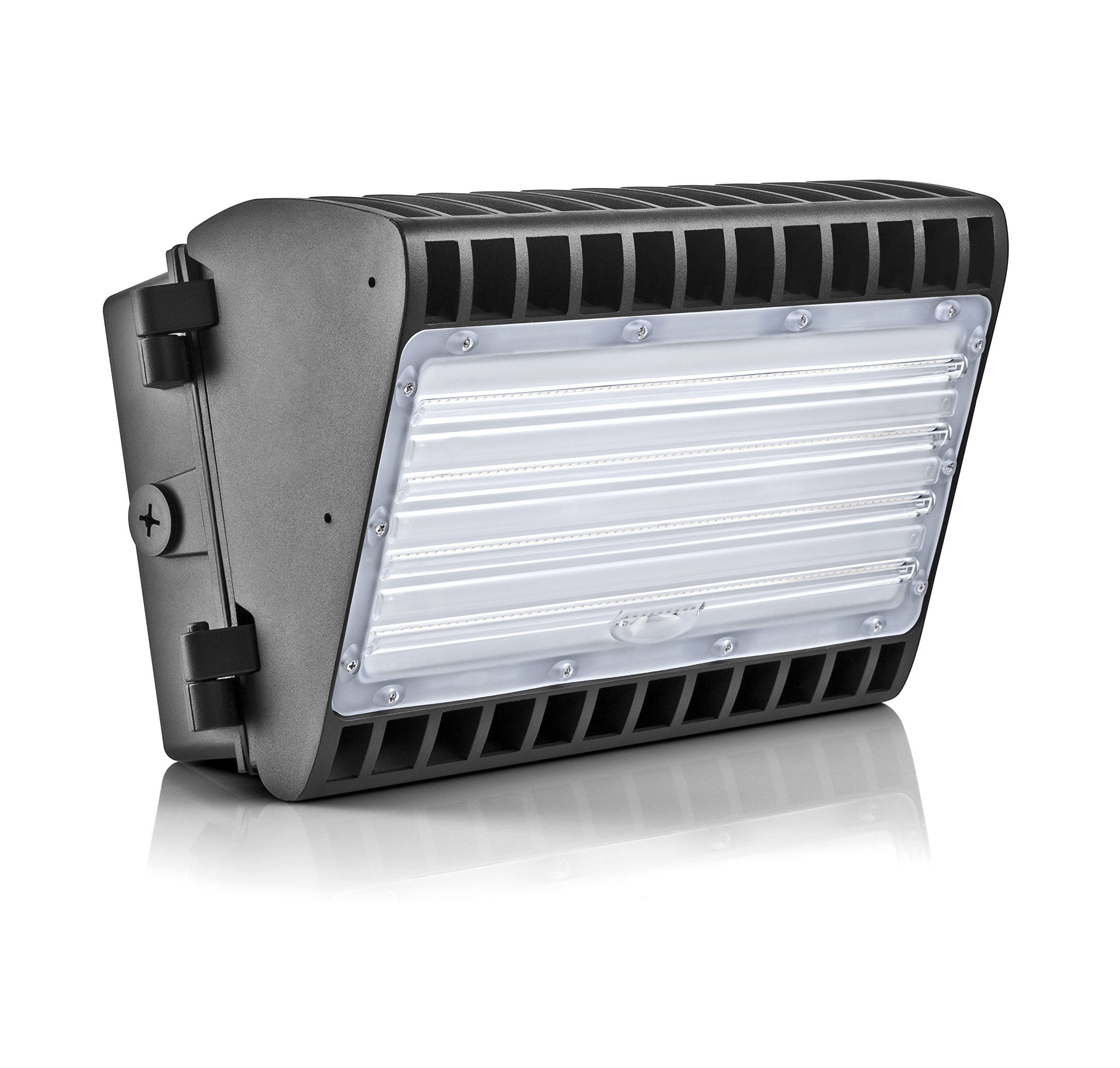 Hyperikon LED 120W Wall Pack Half Cutoff Fixture, 840W HPS/HID Replacement, 5000K, 15,720 Lumens, Waterproof and Outdoor Rated, DLC 4.2 & UL Listed