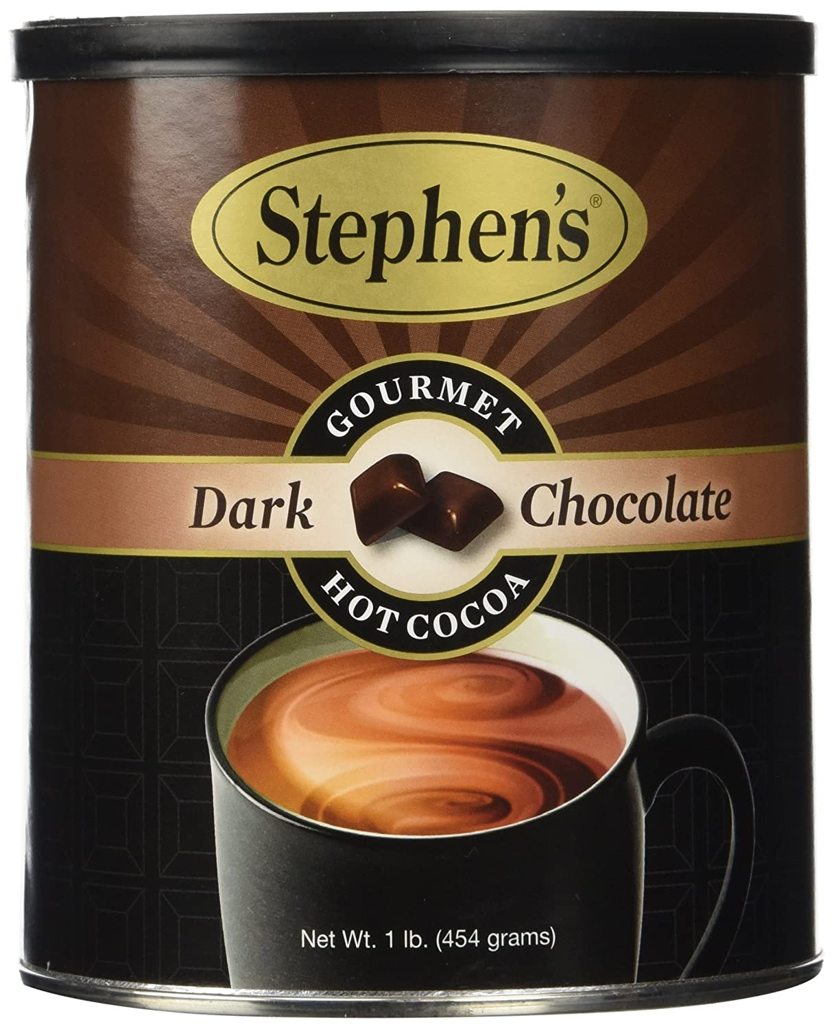 Stephen's Gourmet Hot Cocoa, 16-Ounce Cans (Dark Chocolate, Pack - 1)