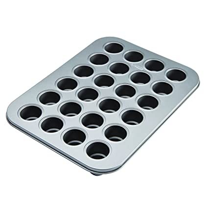 Cake Boss 46217 24 Cup Specialty Nonstick Bakeware Two-Tier Cake Pop Pan, Gray