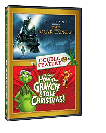 Amazon.com: The Polar Express / How the Grinch Stole Christmas ...
