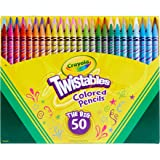 Crayola Twistables Colored Pencils, Amazon Exclusive, 50 Count