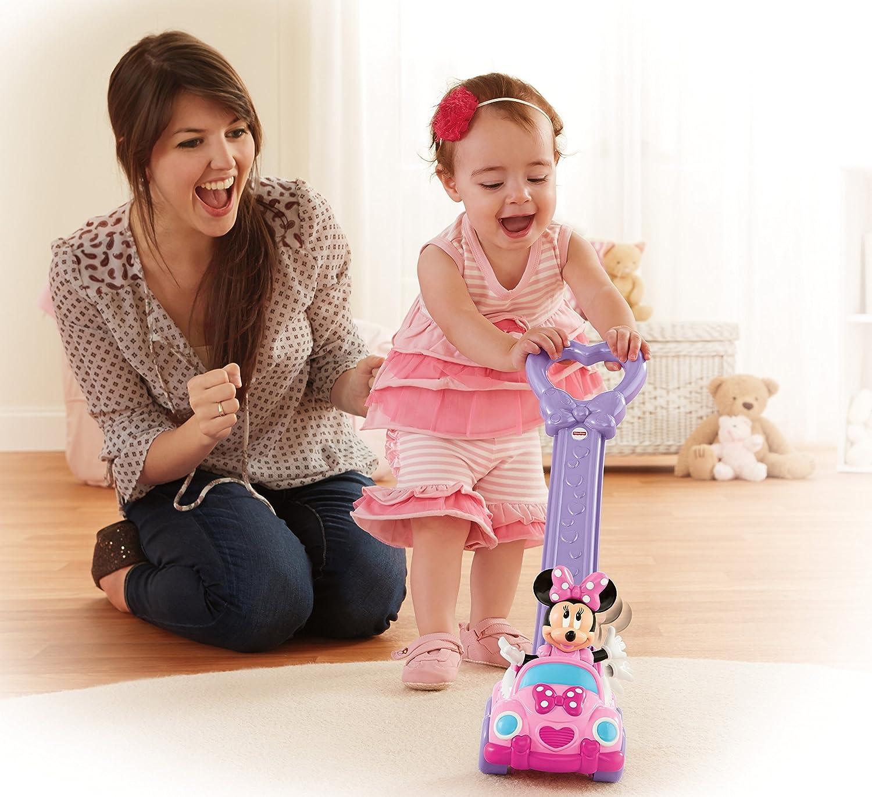 Amazon Fisher Price Disney s Minnie Mouse Push Along Toys