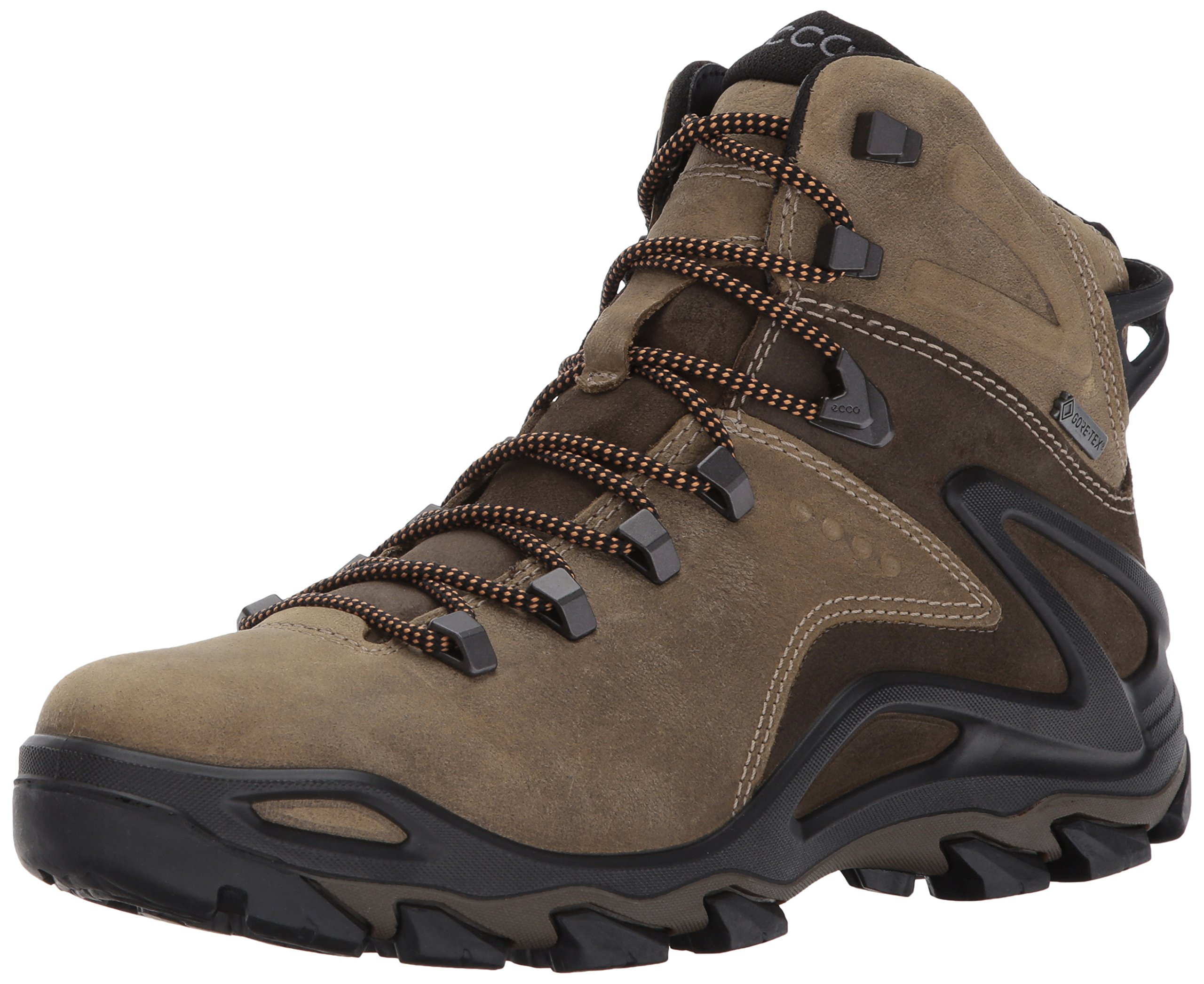 ECCO Men's Terra Evo High Gore-Tex Backpacking Boot,Navajo Brown/Birch,41 EU/7-7.5 US