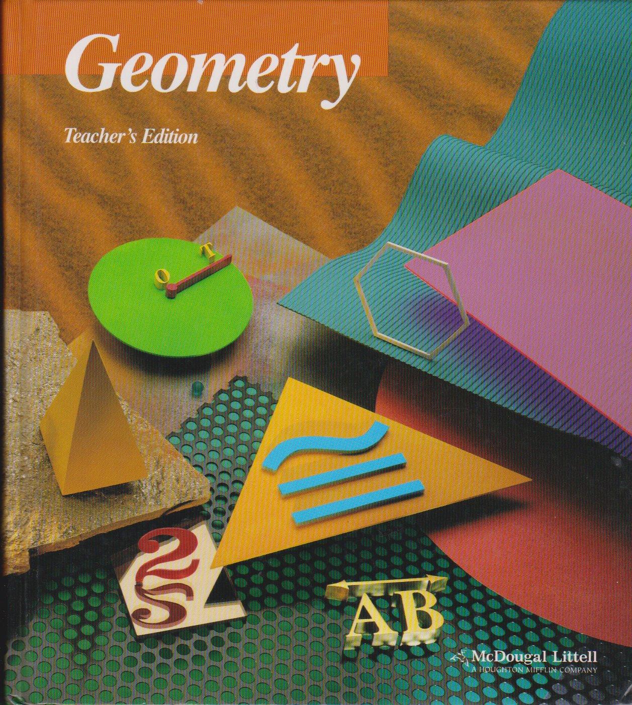 Workbooks geometry workbook mcdougal littell answer key : McDougal Littell Geometry TE: Ray C. Jurgensen, Richard G. Brown ...