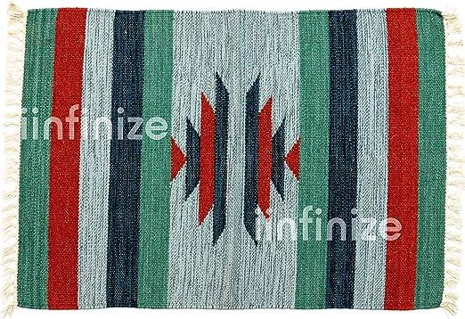 Alfombra de yute de algodón indio hecho a mano, estilo retro ...
