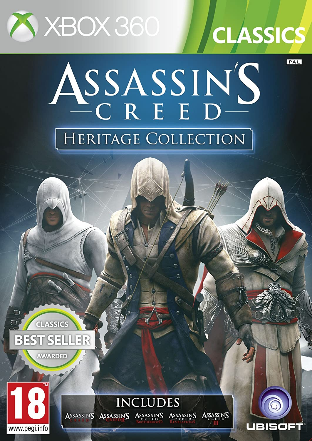 Amazon Com Assassin S Creed Heritage Collection Includes Five