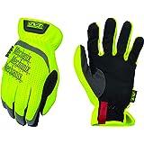 Mechanix Wear - Hi-Viz FastFit Gloves (Large, Fluorescent Yellow)