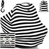 "Baby Car Seat Canopy & Multi-Use Nursing Cover - FREE GIFT BOX SET - ""The MagiCover"" by Little Magic"