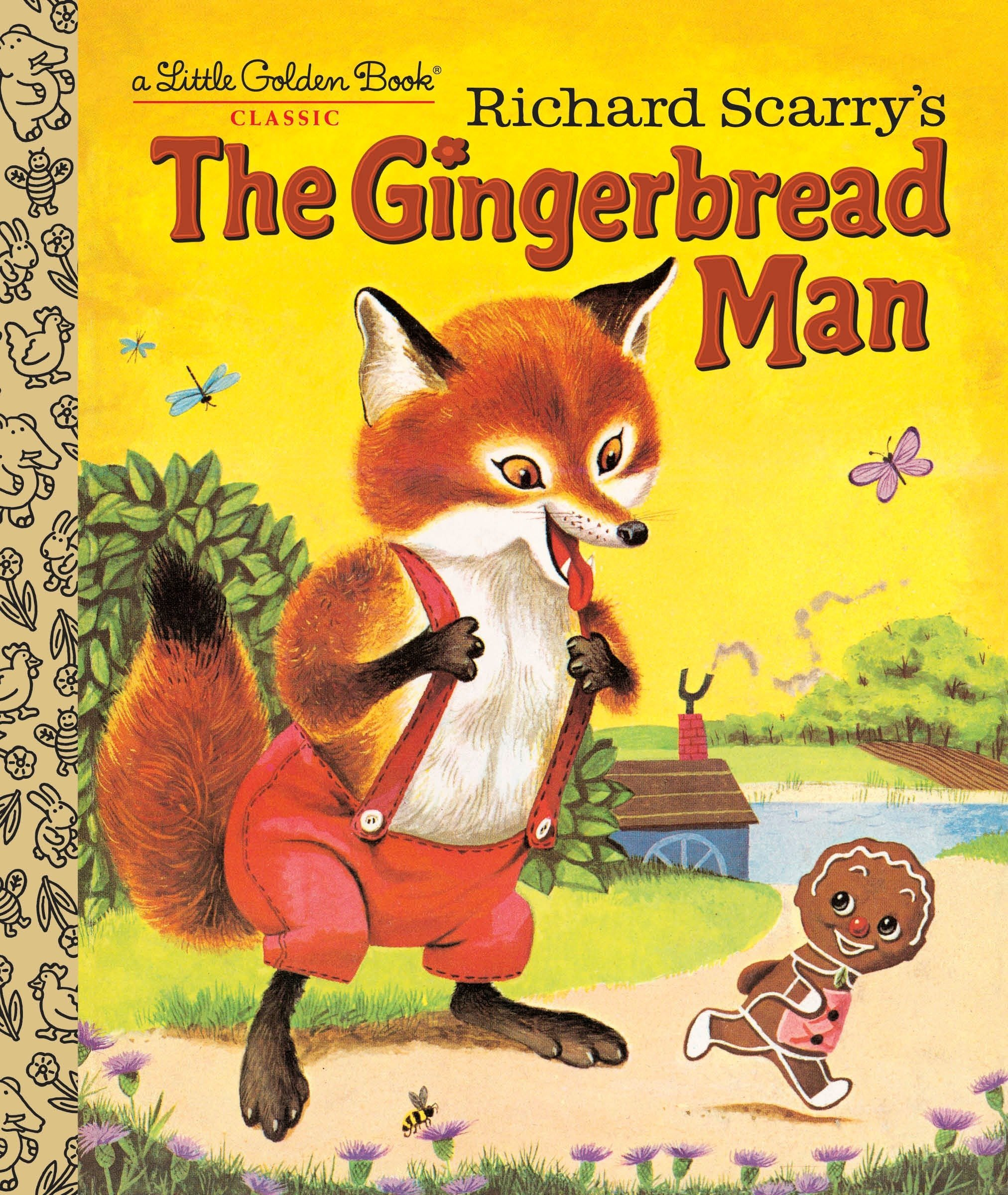 Richard Scarry's The Gingerbread Man (Little Golden Book) pdf