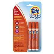 Tide To Go Instant Stain Remover Liquid Pen, 3 Count x 6 pack