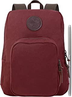 product image for Duluth Pack Standard Laptop Backpack (Burgundy, One Size)
