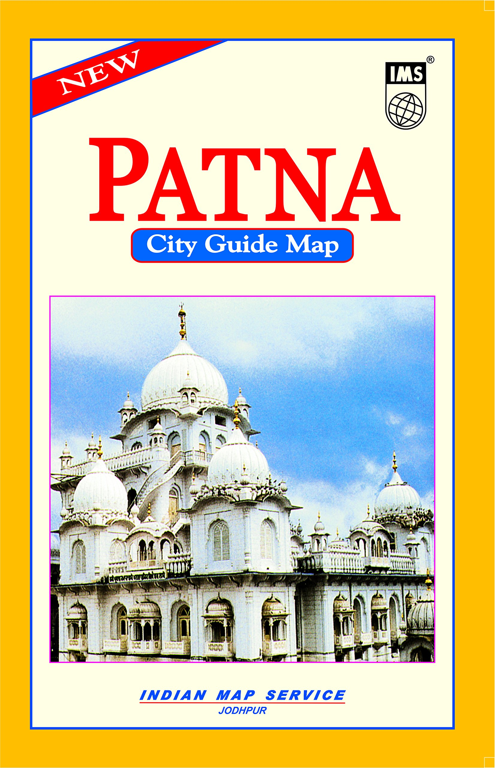 Patna In India Map.Buy Patna Mini City Tourist Guide Map English Hindi Book Online
