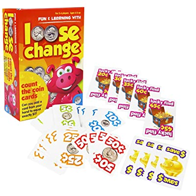 MindWare Loose Change – Card game that teaches math and money for kids – Great addition to any classroom: Toys & Games