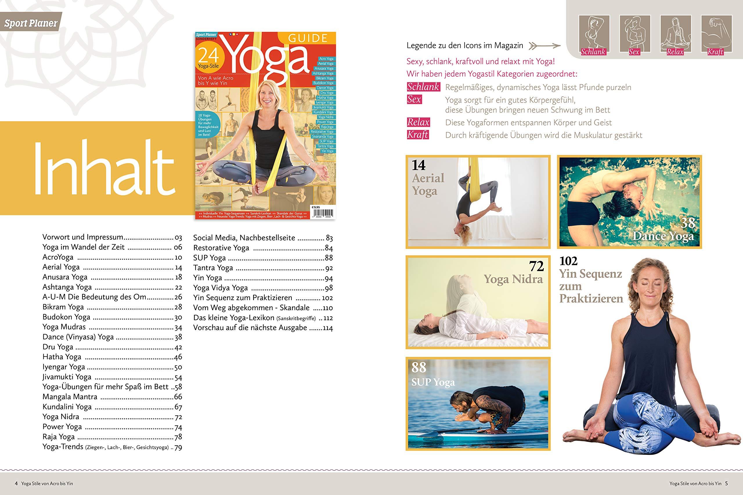 Yoga GUIDE - 24 Yoga-Stile: Von A wie Acro bis Y wie Yin ...