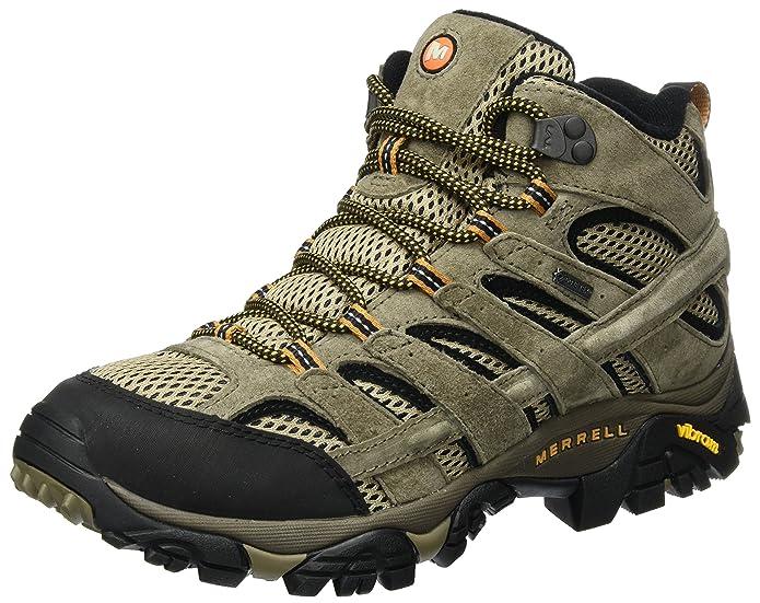 Merrell Moab 2 Leather Mid GTX, Botas de Senderismo para Hombre: Amazon.es: Zapatos y complementos
