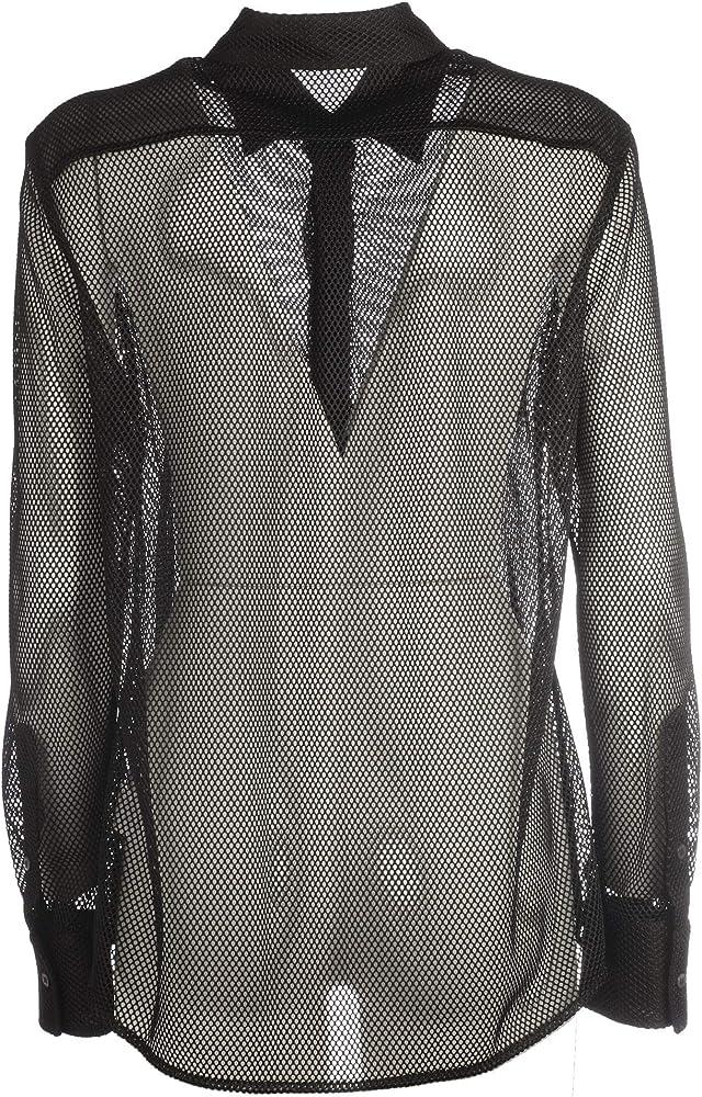 Dolce e Gabbana F5K75TFLMKON0000 - Blusa de Nailon para Mujer, Color Negro - Negro - Talla De La Marca 40: Amazon.es: Ropa y accesorios