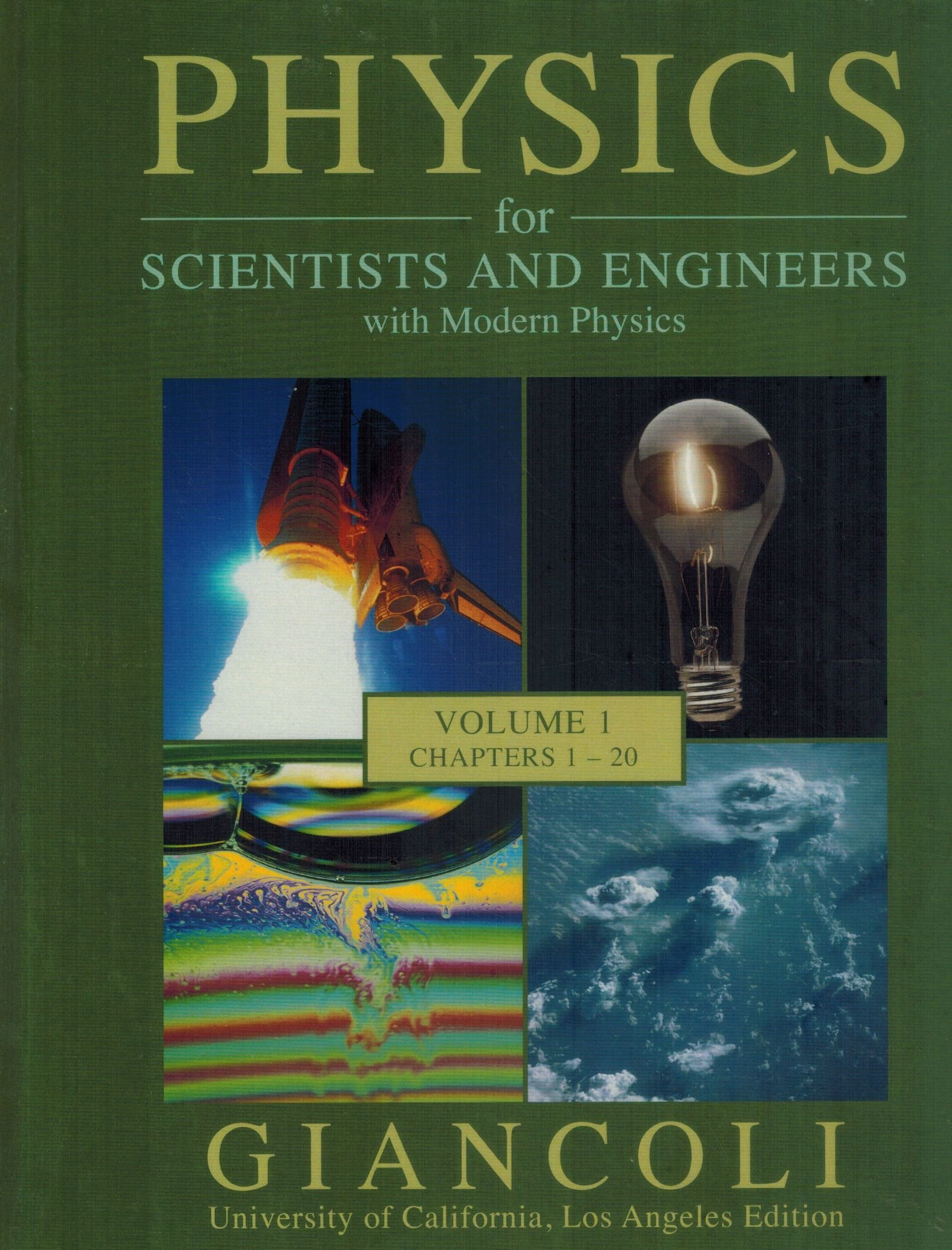 Physics for Scientists and Engineers with Modern Physics (Volume 1 Chapters  1-20): Douglas C. Giancoli: 9780558876548: Amazon.com: Books