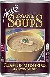 Amy's Organic Soups, Cream of Mushroom, 14.1 Ounce