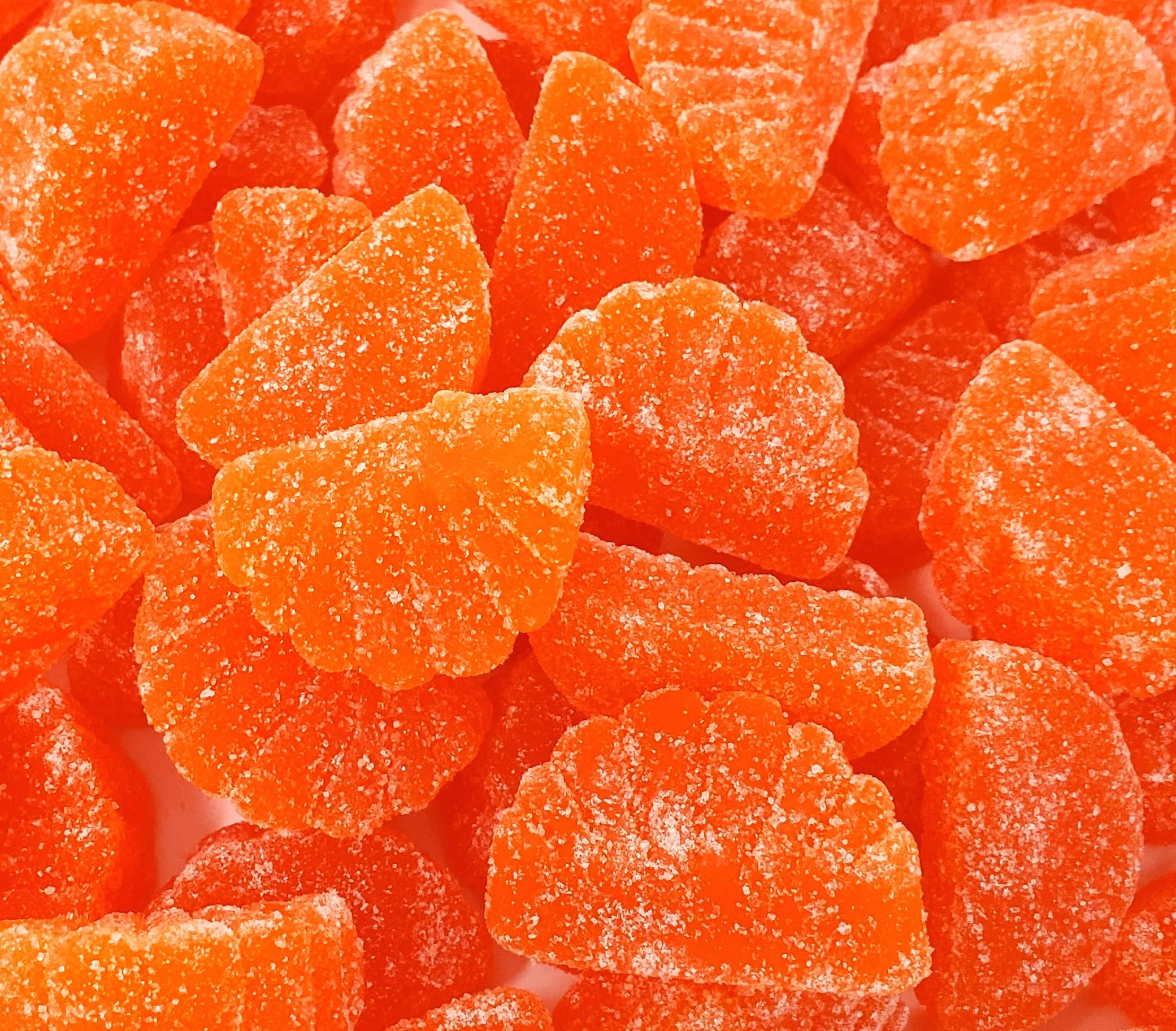 CrazyOutlet Gummy Candy Orange Flavor Fruit Slice Candy - Bulk Pack 2 Lbs