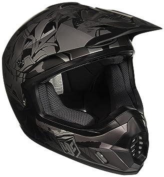 HJC 177175 X S Casco Moto, Negro/Gris, XS