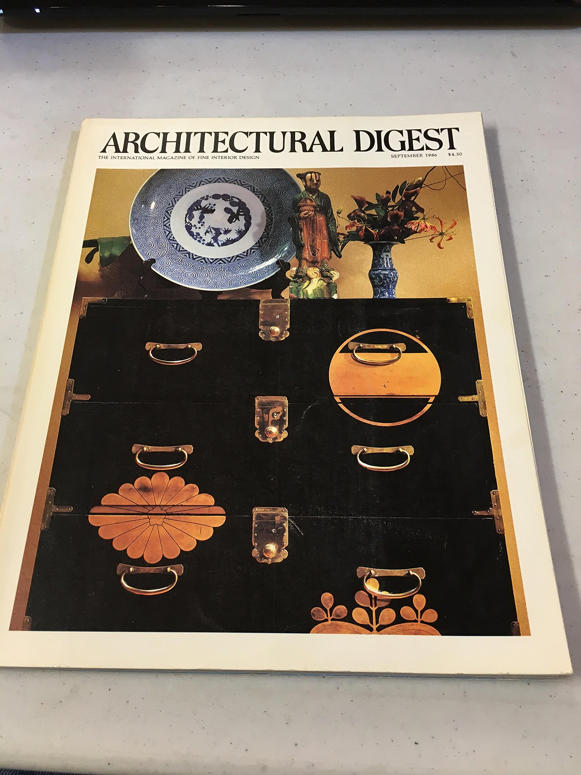 Architectural Digest -- September 1986: Architectural Digest ...