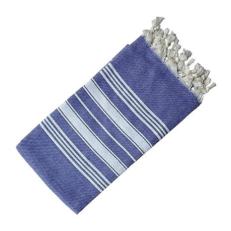 Morado turco toalla Peshtemal - 100% algodón a Natural - para playa piscina de baño