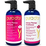 PURA D'OR Intense Therapy Shampoo & Conditioner Haircare Set Repairs Damaged, Distressed, Over-Processed Hair with…