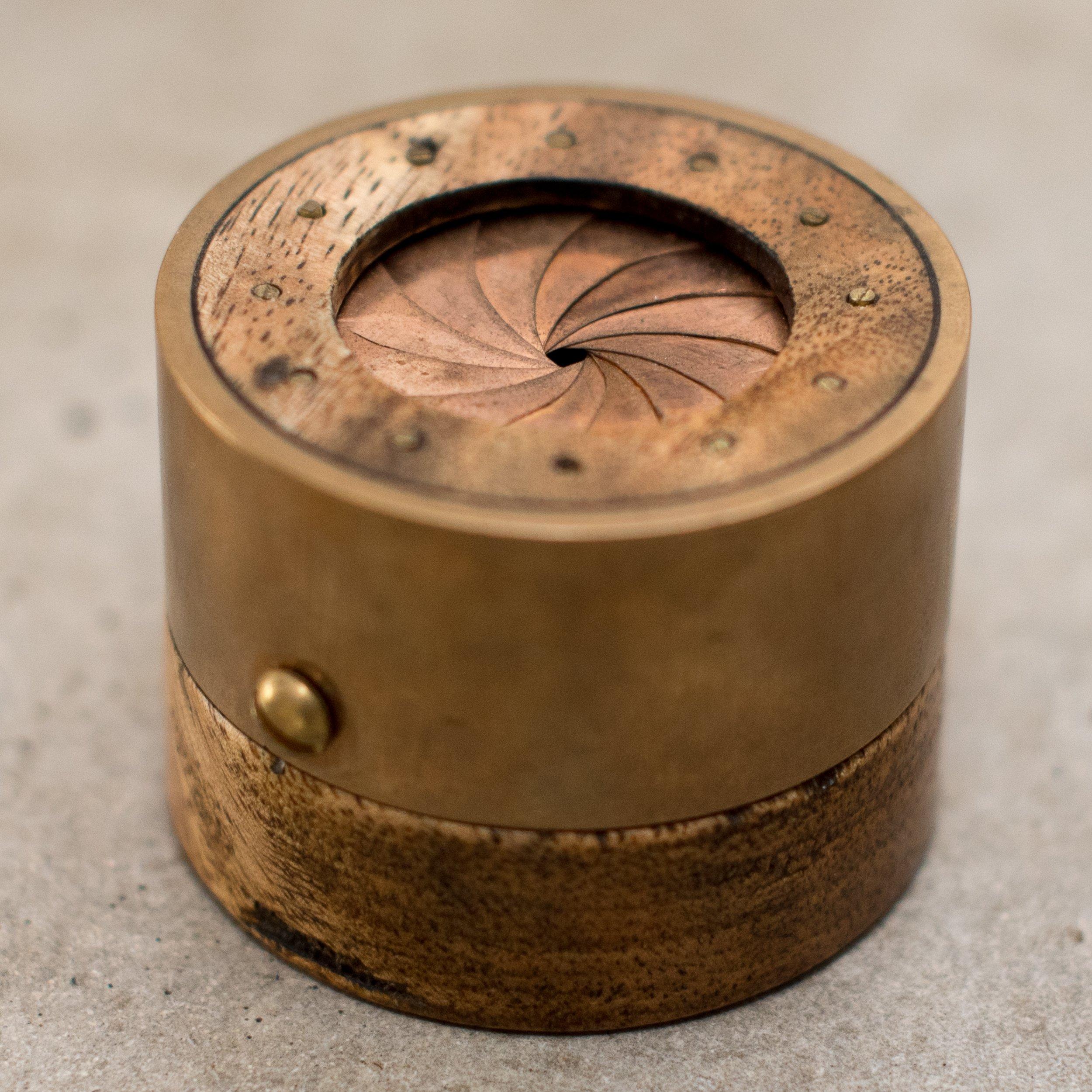 Aperture Ring Box - Mango Wood