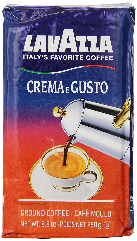 Amazon.com : Lavazza Crema e Gusto - Ground Coffee, 8.8-Ounce ...