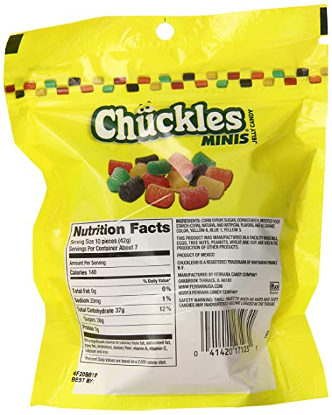 Nice Amazon.com : Chuckles Mini Jelly Candy, 10 Ounce Bag, Pack Of 6 : Grocery U0026  Gourmet Food